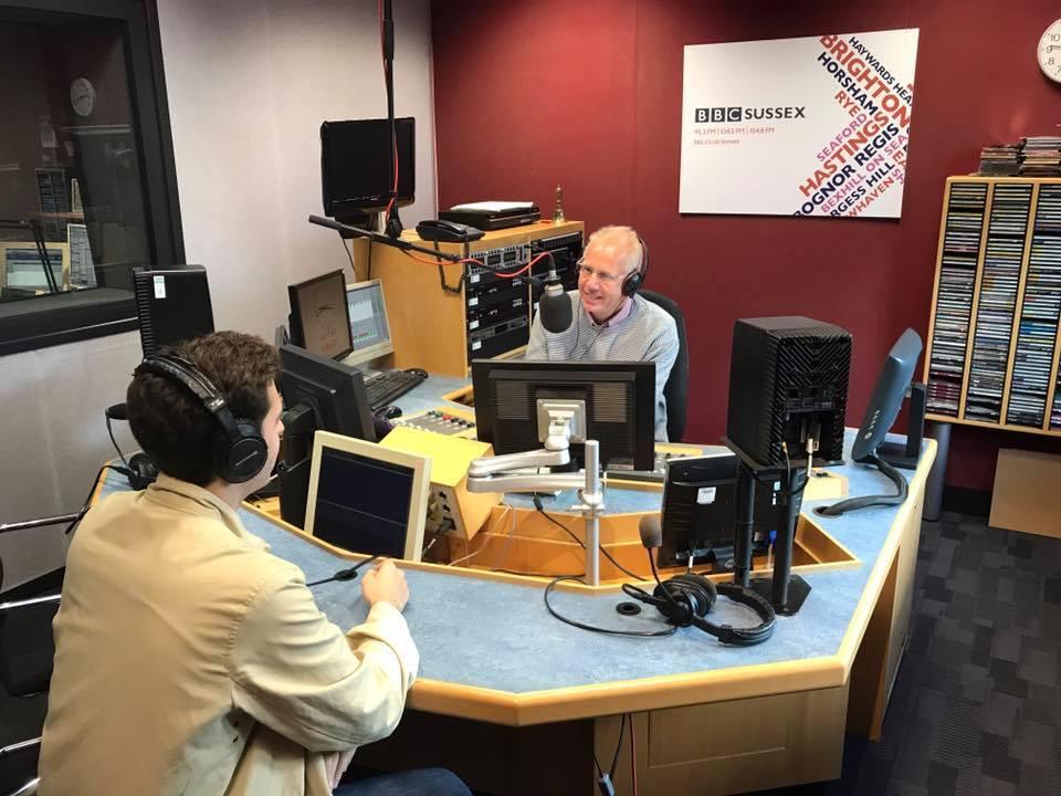 Listen to our Interview on BBC Sussex Breakfast Radio
