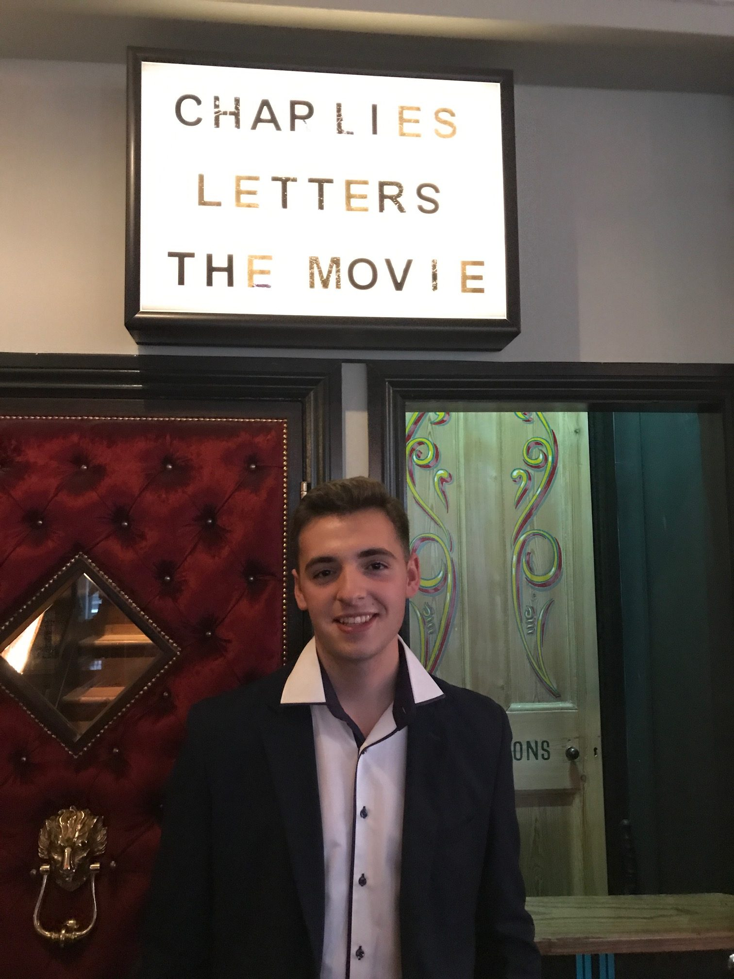 Charlie\u0027s Letters: Opening Night Success | Relsah Productions