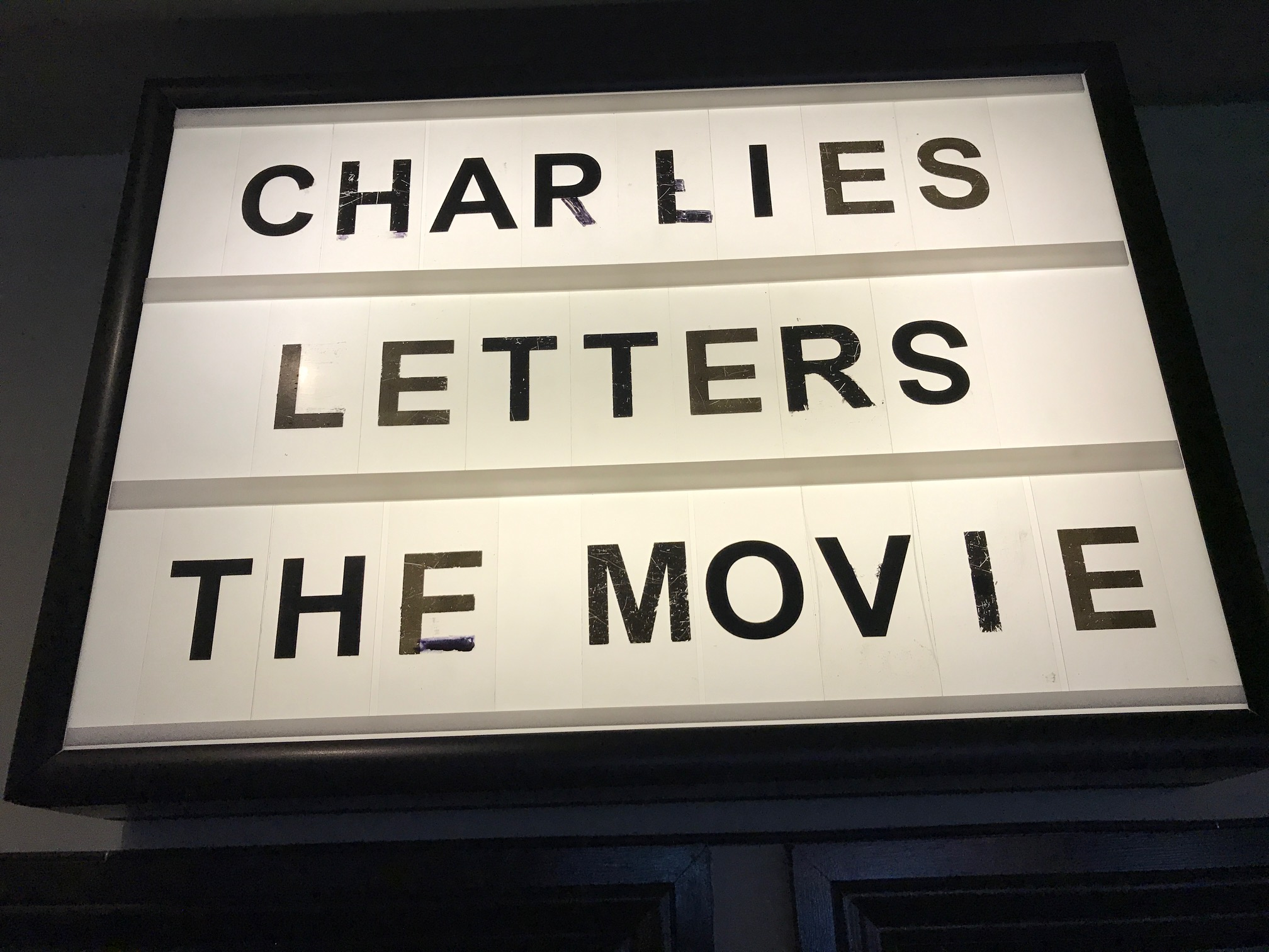 Big announcement later this week about Charlie's Letters!