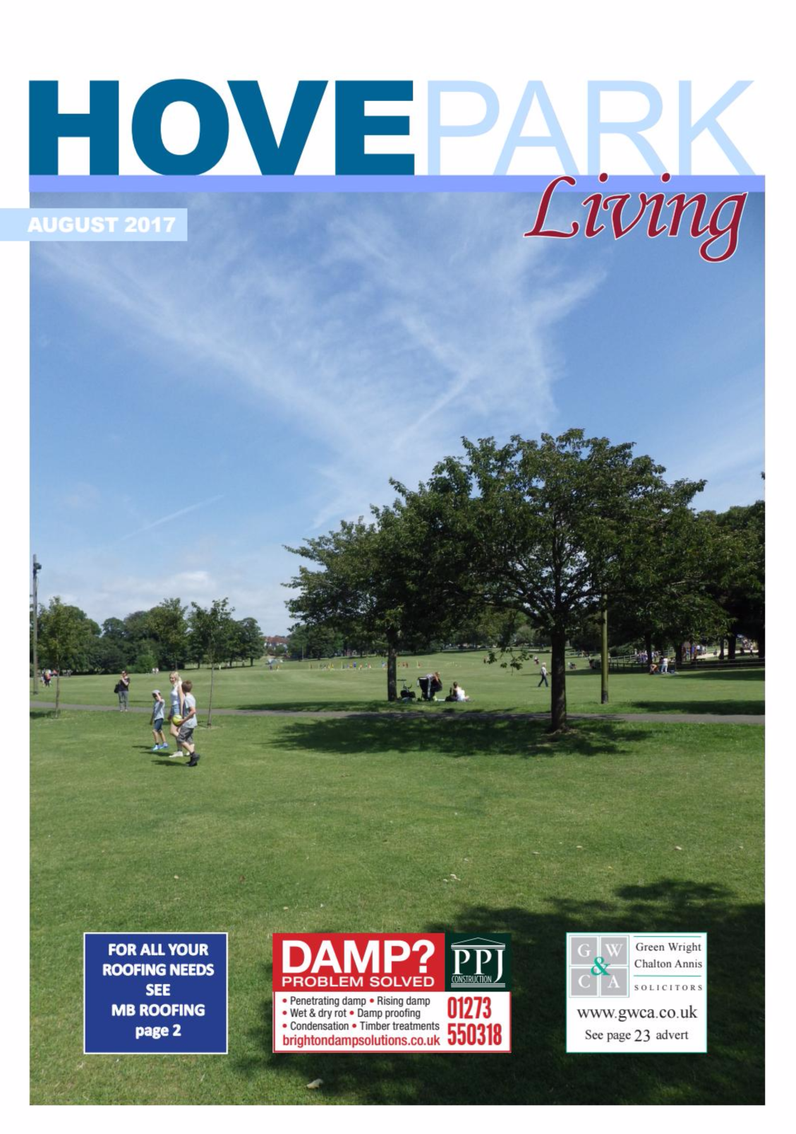 We've been featured in Hove Park Living – Brighton Big Screen Article