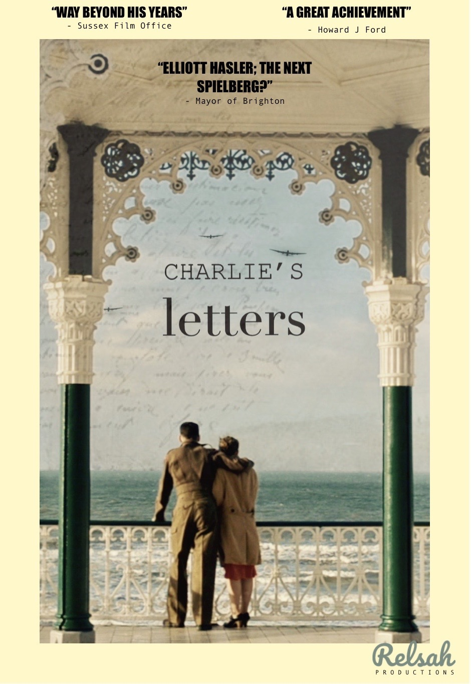 Pick up Charlie's Letters on DVD at The Gratitude Tree Hove until Christmas Eve