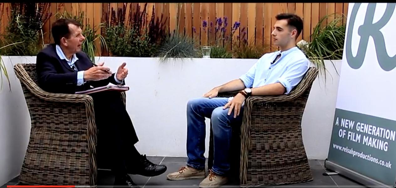 Darkest Hour actor John Locke interviews Elliott Hasler