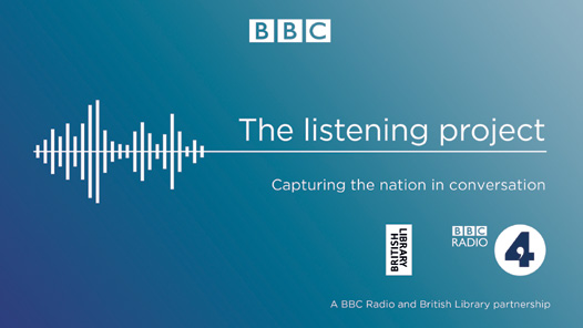 BBC Radio 4 Invite us to take part in the Listening Project