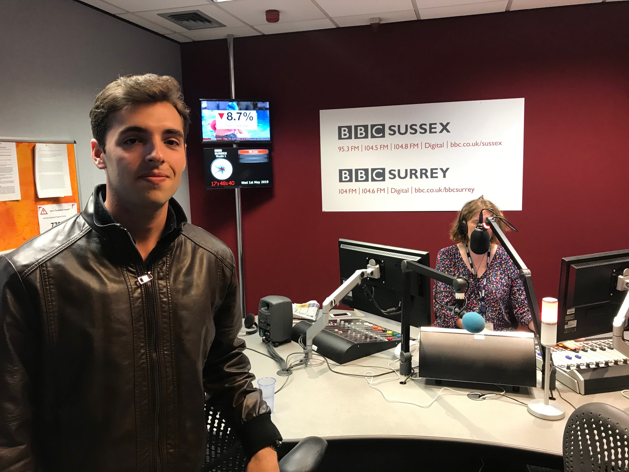 BBC Sussex Interview – Elliott Hasler dubbed 'one of the best film makers in the world'