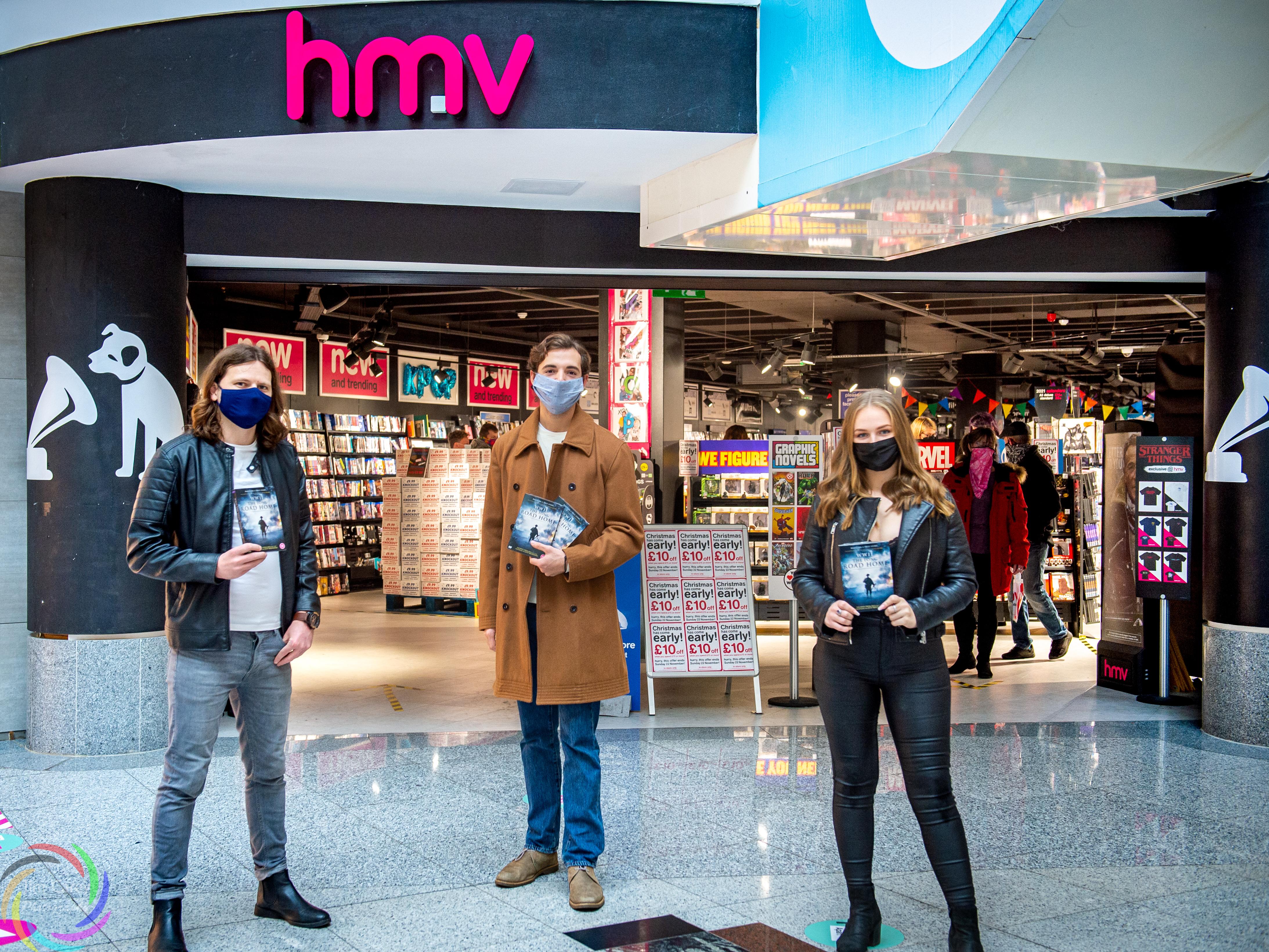 DVD Signing & Photoshoot at HMV Brighton