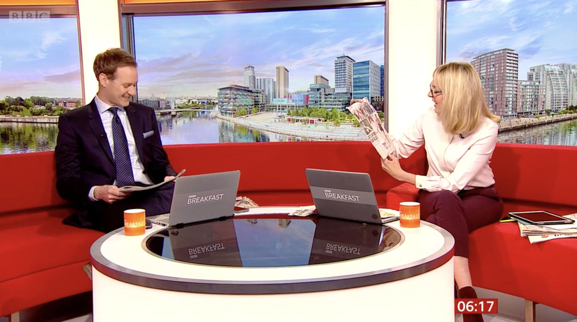 Vindication Swim Featured on BBC Breakfast