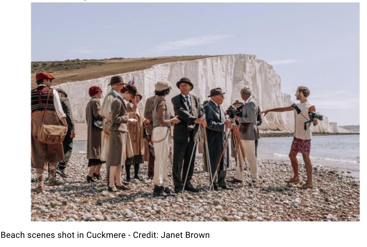 Behind the scenes of Sussex film Vindication Swim – Great British Life Magazine